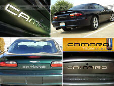 CHROME CHEVROLET CAMARO 92 93 94 95 96 97 - 2000 01 02 BACK LETTERS NOT DECALS