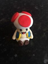 Edible Mario Toad Man Birthday Cake Topper Icing Decoration