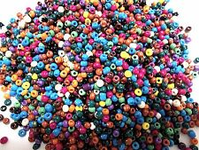 50g 3mm 8/0 Glass Seed Beads - Opaque ASSORTED COLORS ( MIX 1 )