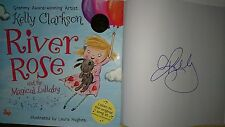 Kelly Clarkson River Rose and the Magical Lullaby Signed Book Grammy Idol 1/1 HC