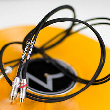 Zu Audio WYLDE RCA 1.7ft [0.5m] L/R Hi-Fi Analog Audio Interconnect Cable Pair