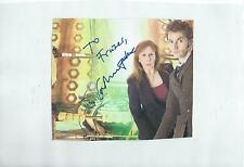 Laminated Catherine Tate Dedicated Autograph On Doctor Who Image Good Condition