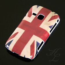 Samsung Galaxy Mini 2 s6500 HARD CASE GUSCIO ASTUCCIO COVER UK BANDIERA INGHILTERRA VINTAGE
