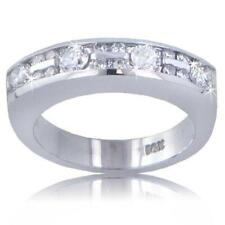 1.00 ct Ladies Round Cut Diamond Wedding Band Ring One Of A Kind