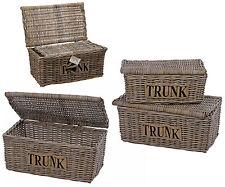 rattankorb mit deckel in truhen und kisten ebay. Black Bedroom Furniture Sets. Home Design Ideas