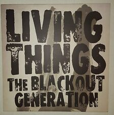 "LIVING THINGS THE BLACKOUT GENERATION 4 TRACK 10"" EP Near Mint Vinyl & Sleeve"