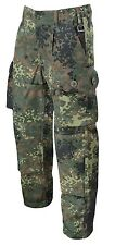 Bundeswehr BW German Army KSK Camo pants Battle Hose trousers Flecktarn