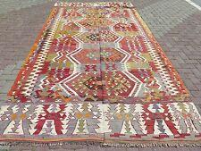 """Vintage Anatolian Antalya Nomad Large  Kilim 76,3""""x142,9"""" Area Rug,Kelim,Carpet"""