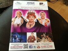 RARE THEATRE WHAT'S ON MAGAZINE GUIDE VENUE CYMRU .WALES  PANTO VICKY ENTWISTLE