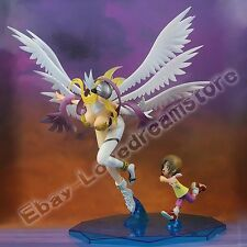 "Anime Digital Monster Angewomon & Yagami Hikari 23cm/9.2"" PVC Figure New No Box"