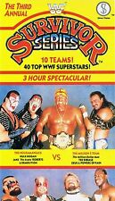 WWF Survivor Series 89 1989 original WWE Wrestling VHS