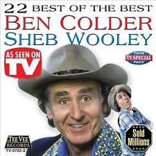 """BEN COLDER/SHEB WOOLEY, CD """"22 BEST OF THE BEST"""" NEW SEALED"""