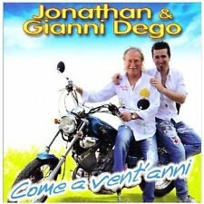 JONATHAN GIANNI DEGO - COME A VENT'ANNI  CD