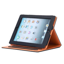 Sleep / Wake Stand Cover Soft Leather Wallet Smart Case for iPad Mini Air 1/2