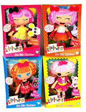 Set of Four LALALOOPSY DOLLS Sew Silly Chatters Soft Plush Talking Dolls Scarce