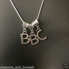 """"""" BBC Necklace """" Hotwife Swinger Fetish Cuckold Cuck Jewelry Queen of Spades 05"""
