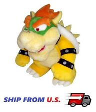 "NEW Super Mario Plush - 10"" Bowser Soft Stuffed Plush Toy US SELLER"