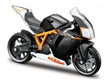 KTM 1190 RC8 R 1:18 black by bburago Motorcycle model die-cast model