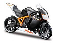 KTM 1190 RC8 R 1:18 schwarz von bburago Motorradmodell die-cast model