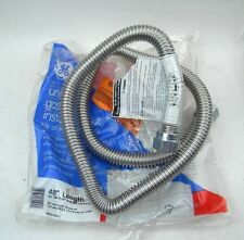 GE Universal Gas Dryer Installation Kit 48'' Length (PM15x104DS) *HOSE ONLY*