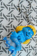 porte cle schtroumpfette SIRENE schtroumpf smurf puffi puffo pitufo germany 1981