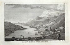 TAYMOUTH, SCOTLAND, Pennant original copper engraving antique print 1776