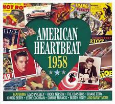 AMERICAN HEARTBEAT 1958  (NEW SEALED 2CD) Elvis Presley-Buddy Holly-Bobby Darin