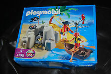 Playmobil - 4139 - Pirates Island Compact Set - 2007 - 4+ - Pirate Goonies Hook