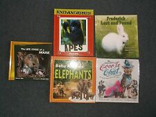 D09221607 5 Books For Kids Baby Animal Elephant Coco Le Chat Fredrick Lost Found