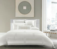 Hotel Collection Frame White King Comforter NIP Retails $410.00