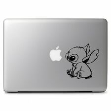 "Stitch Lilo Black for Macbook Air Pro 11 13 15 17"" Laptop Car Decal Sticker"