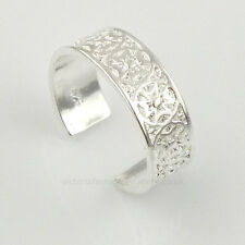 925 Sterling Silver Plated CELTIC CROSS RING Toe/Pinkie Ring ADJUSTABLE. Maltese