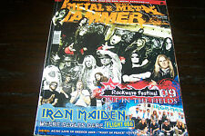 METAL HAMMER MAGAZINE 4/2009 IRON MAIDEN VOIVOD POWERWOLF LACRIMOSA TYR