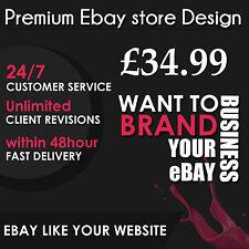 Diseño de la tienda eBay & plantilla de anuncio de subasta Profesional Tienda paquete dinámico