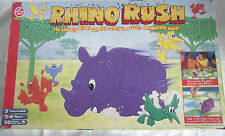 VINTAGE / RETRO RHINO RUSH BOARD GAME / PETER PAN GAMES COMPLETE