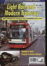 LIGHT RAIL AND MODERN TRAMWAY MAGAZINE - July 1996 - Vol. 59 - No. 703