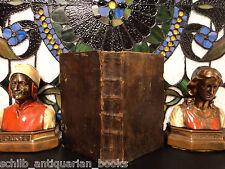 1791 German Holy Bible Psalm Book Hymnal Deutsch Lieder MUSIC Bern Switzerland