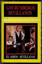 LOS RUMBEROS SEVILLANOS - El Adios - Sevillanas - SPAIN CASSETTE EMC 1992