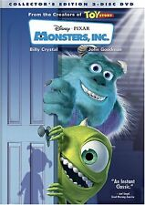 Monsters Inc  DVD Billy Crystal, John Goodman, Mary Gibbs, Steve Buscemi, James