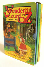 The Wonderful Wizard of Oz - 4 Pop-Up Books - Derrydale - Treasury Collection