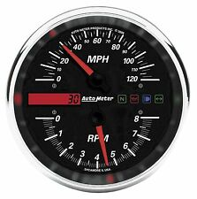 Auto Meter Drop-In Speedometer Tachometer Combo Harley Dyna Softail Road King