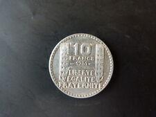 PIECE MONNAIE FRANCE 10 Francs TURIN 1931 ARGENT SILVER trés bon état