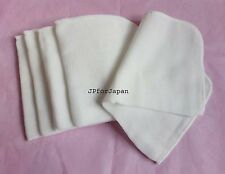 5 X 100% COTTON MUSLIN Microfiber CLOTHS Facial cleanser /super soft Face Cloths
