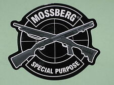 Mossberg Firearms Special Purpose Vinyl Sticker Decal Shotgun Police Gun NEW