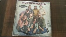 ZAPPA  BEST OF THE MOTHERS OF INVENTION  ISRAELI LP MOTHERMANIA HEBREW COVER