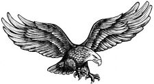 American Flying Eagle Temporary Fake Tattoos Waterpoof Freedom Body Art Transfer