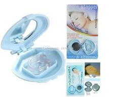 Anti Stop Snoring Snore Free Magnetic Silicone Night Sleeping Aid Nose Clip