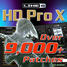 Line 6 POD HD Pro X - Patches/Presets for Line 6 POD HD Pro X - HUGE TIME SAVER!
