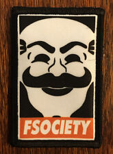 FSociety Mr Robot Morale Patch Milspec Tactical Handmade in the USA