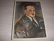 CP TABLEAU PEINTURE Oskar KOKOSCHKA - PORTRAIT d'HOMME - 1913